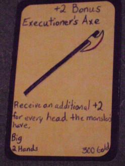 Custom Card Ideas: Executioner's Axe