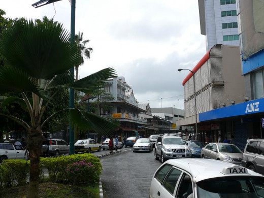 The heart of Suva city is an interesting walk - if you know how to side-step the sword sellers