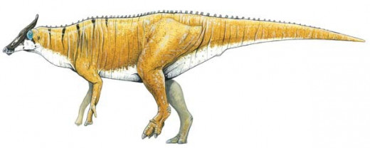 Augustynolophus, as depicted by Ken Kirkland.