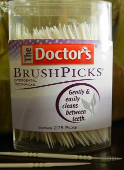 Plastic Brush Picks for Teeth