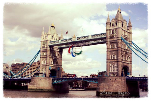 Tower Bridge during the paralympics
