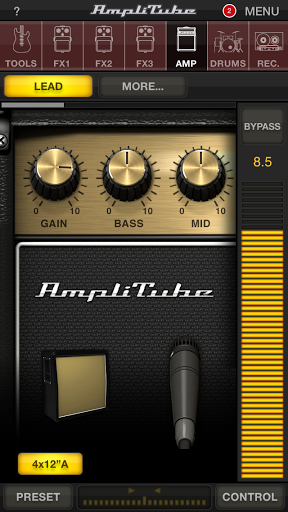 AmpliTube effectively turns your iPhone into a high quality pocket amplifier.