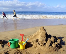 how to make the perfect sandcastle