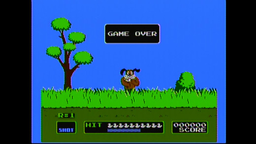 All playing NES duck hunt on an HDTV will do is get you laughed at.