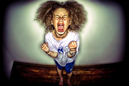 Don't throw up a tantrum for you to be heard!