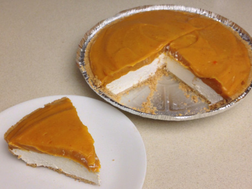 No Bake Double Layer Pumpkin Pie