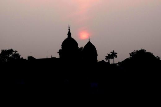 Sunset, Ayodhya
