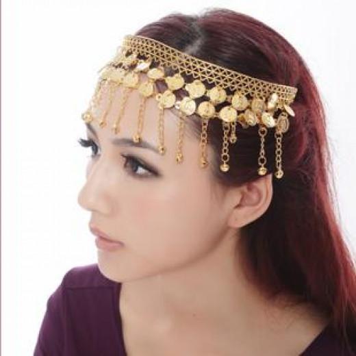 Women with Metal Headband