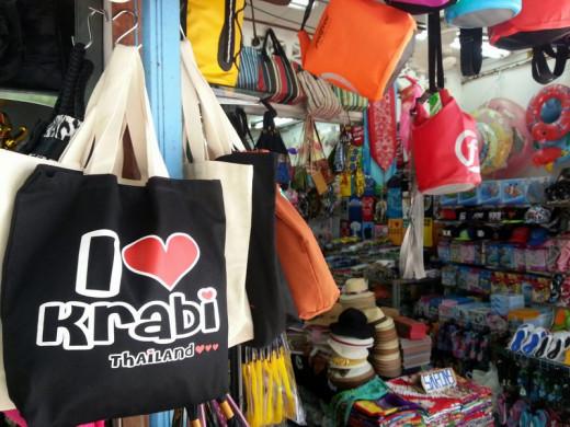 Shop for Krabi souvenirs in Ao Nang