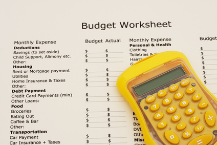 Complete a budget worksheet for them