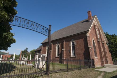 Britannia United Church and Cemetery, Mississauga, Ontario
