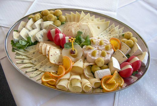 Presentation and fabulous cheese are the key to wonderful cheese platters