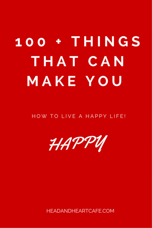 100+ Things That Can Make You happy