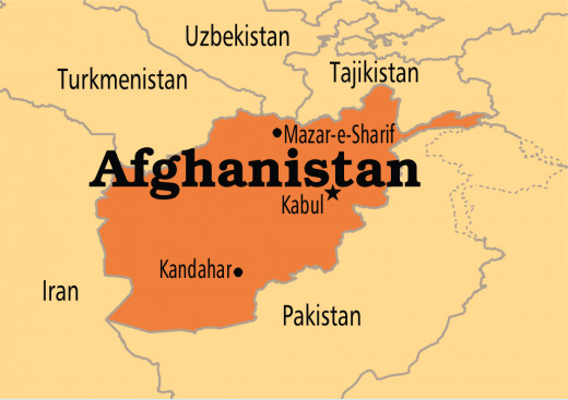 Map of Afghanistan to help you visualize the geography of the region.