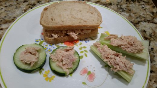 Tuna Salad Serving Suggestions