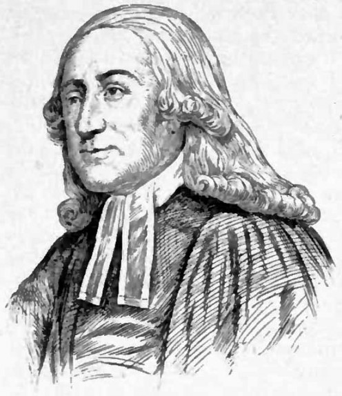 Portrait drawing of John Wesley, founder of Methodism, by Jacques Reich, Appletons' Cyclopædia of American Biography, 1900, v. 5, p. 438