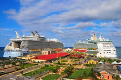 Historic Falmouth Port reconstructed for largest cruise ships in the world.