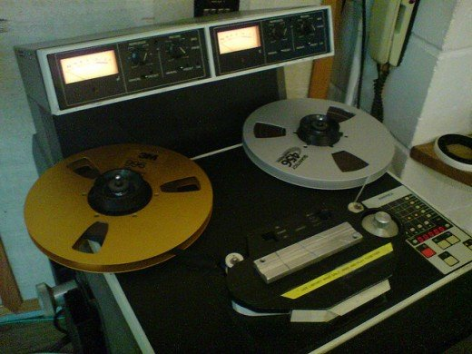 Old tape machine