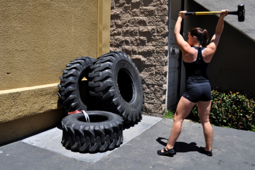 Also popularized by CrossFit; unconventional exercises. This might be a new resolution/projection that wont fail.