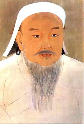 Genghis Khan Portrait by a Court Artitst