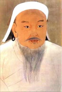 Genghis Khan Portrait by a Court Artitst