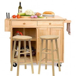 get a kitchen island with seating for an instant kitchen makeover. Black Bedroom Furniture Sets. Home Design Ideas