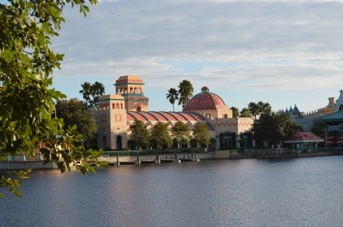 Coronado Springs Resort at Walt Disney World is a moderately priced hotel resort that also serves as a convention center.