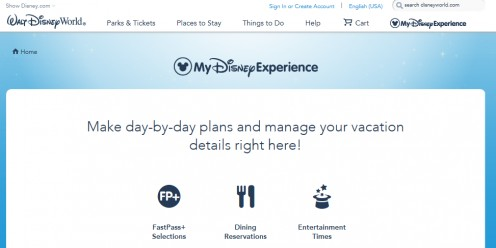 This is the official Disney site that my wife and I used to plan our first two trips to Walt Disney World. I dream of more!