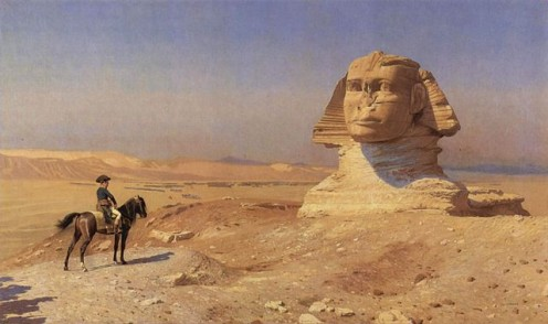 Napoleon Visiting Sphinx