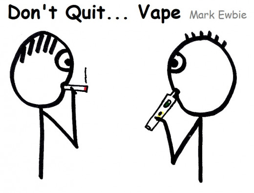 Smoking is not cool.  Vaping is the smart alternative.