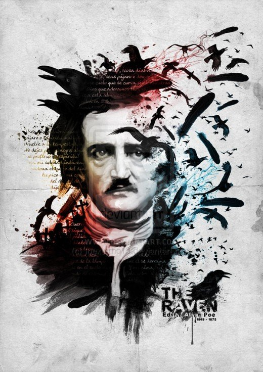 Poe dedicated his life to pursuing a career in writing. Although largely published and reviewed, he struggled with financial problems through his whole existence.