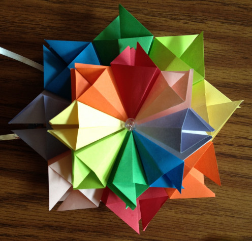 The Original Origami that inspired the whole thing!
