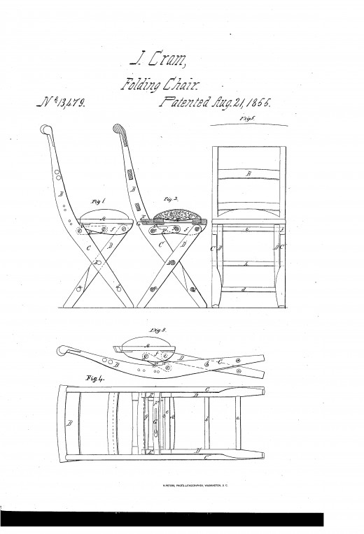 Early Folding Chair