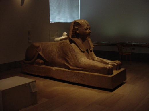 The sphinx of Hatshepsut.