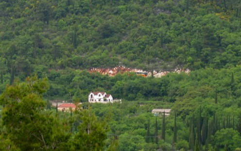 A view of the village