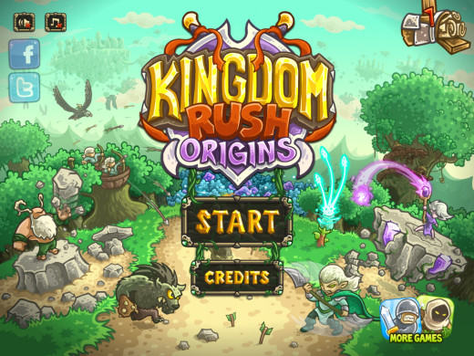Kingdom Rush: Origins is copyrighted by Armor Games. All images used for instructional purposes only.