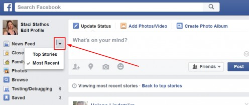 Choose the order in which posts appear on News Feed.