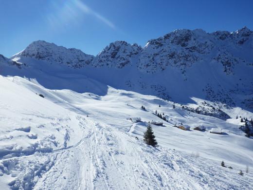 Sonntag Stein, Austria, a funky little ski area.