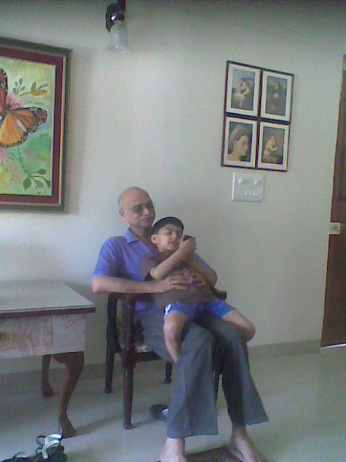 My Dad and my son