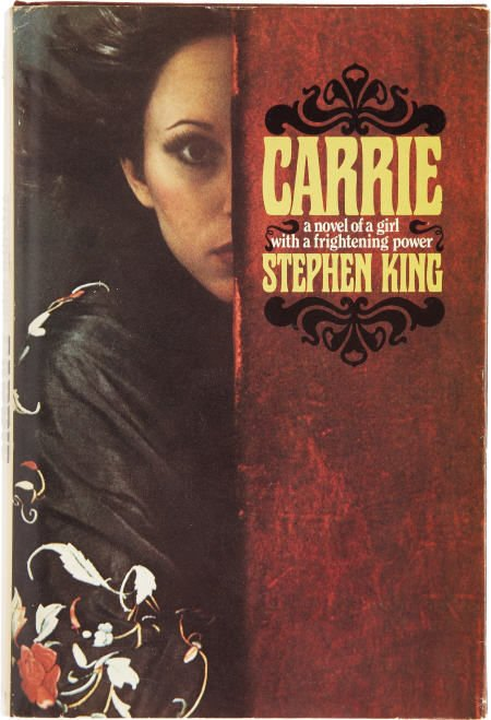 Carrie's first edition hardcover.