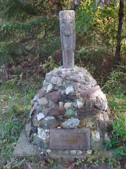 Trail of Tears Monument in Caledonia, Missouri
