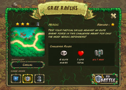 Tips for Beating Kingdom Rush Origins Gray Ravens Level on the Heroic Challenge