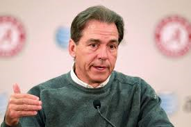 Nick Saban, current Bama head coach
