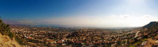 Paphos view