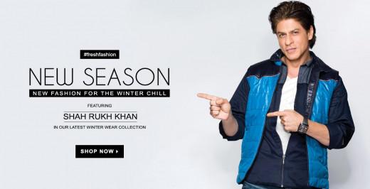 Yepme's Shahrukh Khan collection