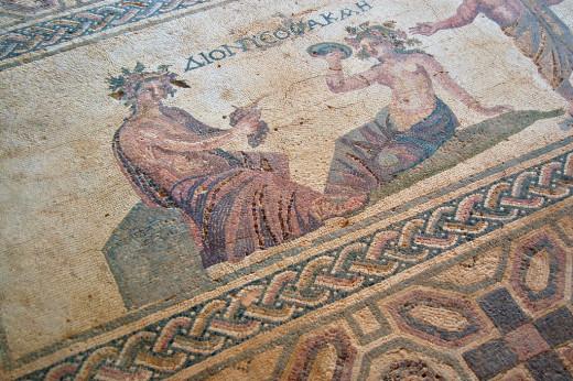 House of Dionysos mosaics