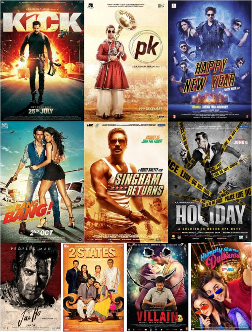 Highest Grossing Hindi films of 2014
