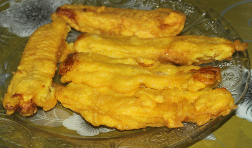 Sweet Plantain Fritters