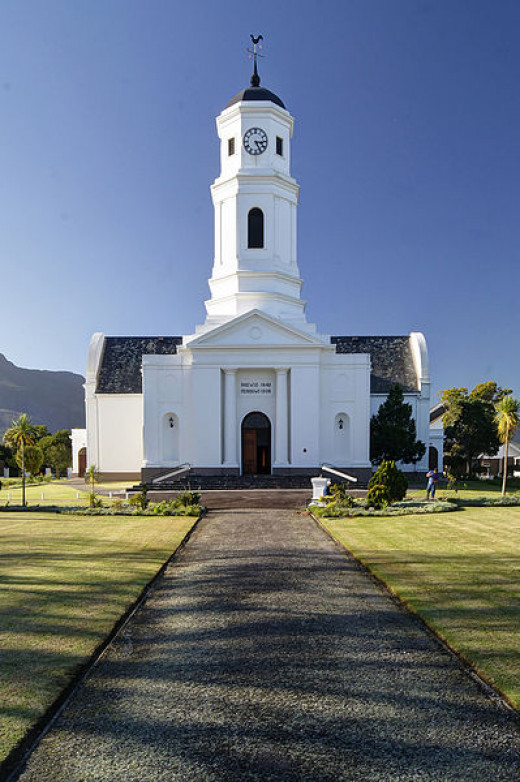 Dutch Reformed Church, George, Western Cape, South Africa