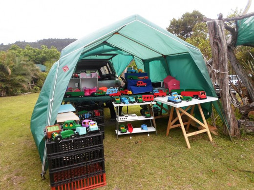 Crafts Market at Sedgefield, South Africa
